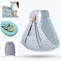 Lightweight Adjustable Belt Newborn Baby Carrier - Gray