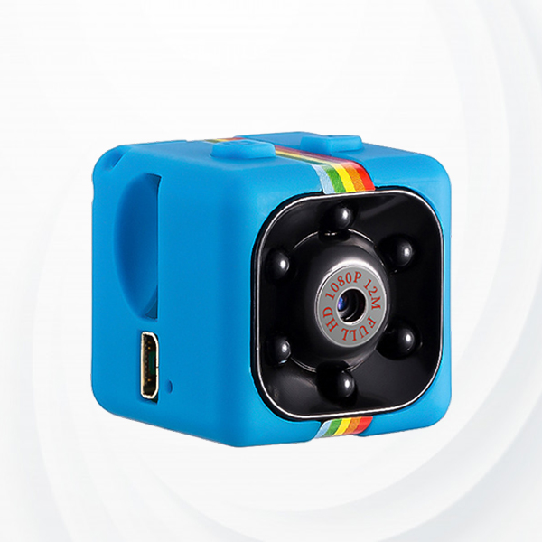 Outdoor Security Night Vision 1080p Camera - Blue
