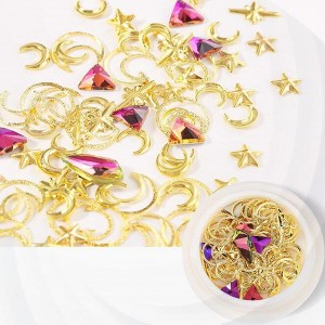 Crystal Carved Special Nail Decoratives Set