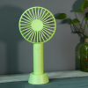 Rechargeable Mini Fan With Phone Holder - Green