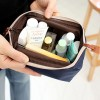 Multi-functional Frog Mouth Women Cosmetic Bags - Light Blue