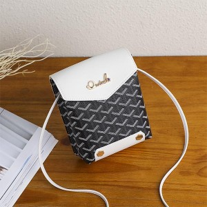 Traditional Sequence Pu Leather Women Bags - Black