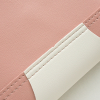 Cut Out Pearl Patched Vertical Crossbody Bags
