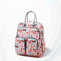 Splash-proof Casual Zipper Mother Baby Bags - Pink