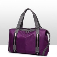 Leisure Fitness Large-capacity Leisure Shoulder Bag - Purple