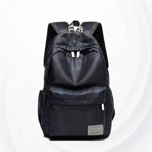 Casual Travel Multi Pockets Backpack Bags - Blue