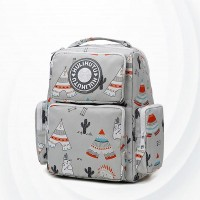 Three-dimensional Wet Dry Separation Pregnancy Bag - Light Gray