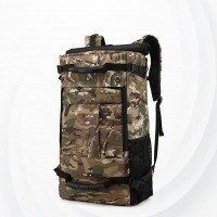 Leisure Waterproof Three Dimensional Backpack - Army Green