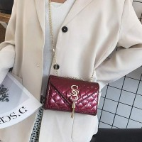 Trendy Tassel Square Shaped Women Messenger Bags - Burgundy