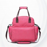 Multi-function Portable Large Capacity Baby Bags - Pink