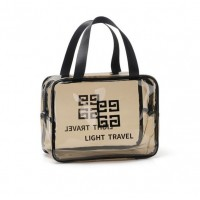 Wide Space Transparent Traveler Bag
