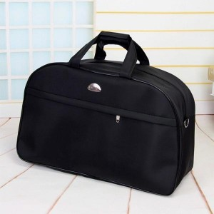 Waterproof Luggage Fitness Sports Travel Bags - Jet Black