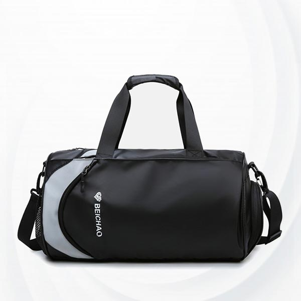 Fitness Large Capacity Diagonal Cross Travel Handbags - Black