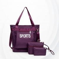 Large-capacity Lightweight Waterproof Bag Set - Purple