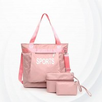 Large-capacity Lightweight Waterproof Bag Set - Pink