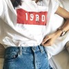Graphic Prints Round Neck Short Sleeves T-Shirt