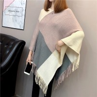 Winter Fashion Batwing Sleeves Females Party Sweaters - Pink