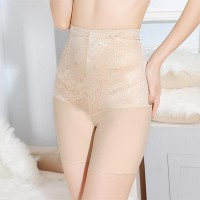 High Waist Abdomen Hips Postpartum Ladies Underwear - Skin