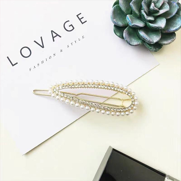 Crystal Decorative Women Fashion Hair Clips