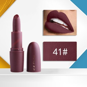 Lip Care Water Resistant High Quality Lipstick - Code 41