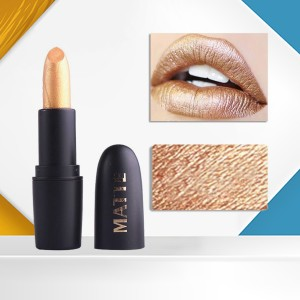Lip Care Water Resistant High Quality Lipstick - Golden
