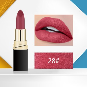 Matte 3D Water Resistant High Quality Lipstick - Code 28