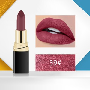 Matte 3D Water Resistant High Quality Lipstick - Code 39