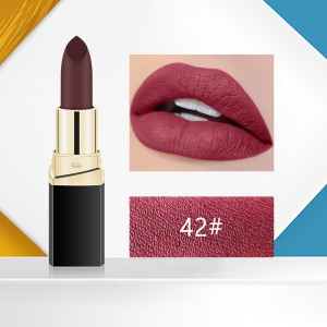 Matte 3D Water Resistant High Quality Lipstick - Code 42