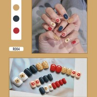 Contrast Easy Adhesive Nails - Polka Dots