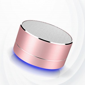 Rechargeable Picnic Good Quality Bluetooth Speaker - Pink