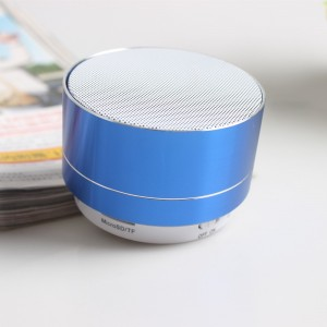 Rechargeable Picnic Good Quality Bluetooth Speaker - Blue