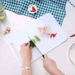 Vegetable Cutting  Board Large - White