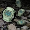 Student Waterproof Sports Electronic Watch - Green
