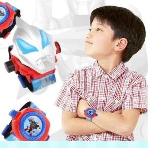 Boys Cartoon Projection Electronic Watch Toys - Multi Color