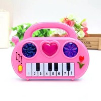 Kids Lighting Music Electronic Piano Toy - Pink
