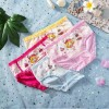 4 Pcs Kids Cotton Cartoon Panties - Multi Color