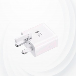 Fast Mobile Charger For Android &  IOS - White