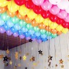 100 Pcs Round Pearly Party Balloons - Multi Color