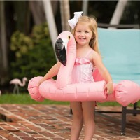 Flamingo Children Swimming Ring - Pink