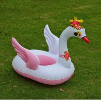 Children Swan Swimming Sitting Ring - Pink