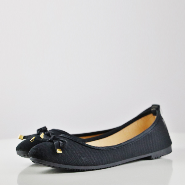 Breathable Shallow Mouth Flat Formal Shoes - Black