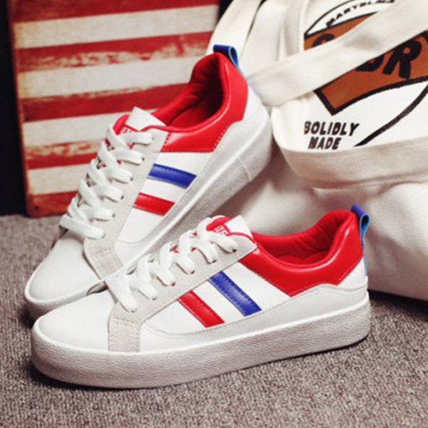 Female Fashion Summer Sneaker Comfortable Shoes White