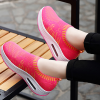 Women Summer Breathable Cool Fabric Pink Shoes