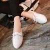 Pointed Formal Office Wear Shoes - White