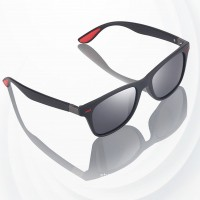 Polarized Sun Light Projection Sport Glasses - Gray