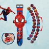 Children's Cartoon Projection Electronic Watch Toys - Red