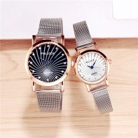 Quartz Couple Watches White Dial Small - White